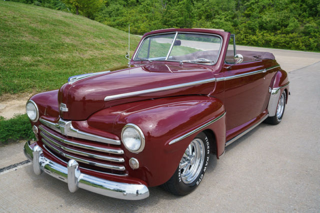 Street Rod Air Conditioners : Ford super deluxe convertible street rod all steel