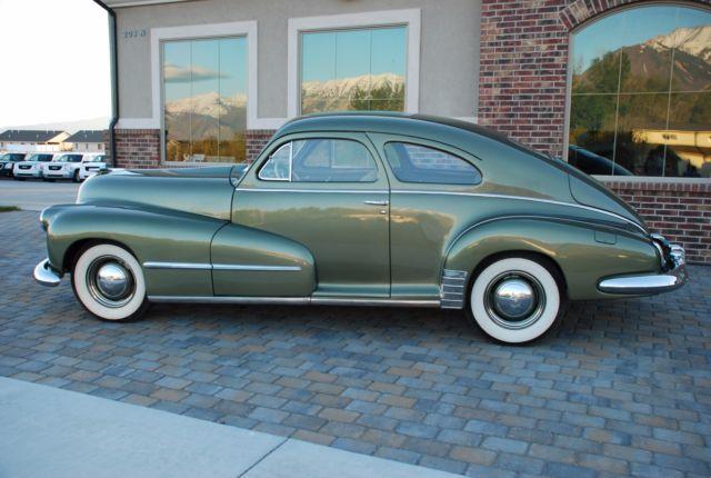 1948 Oldsmobile 2 Door Club Sedan Fastback Fully Restored