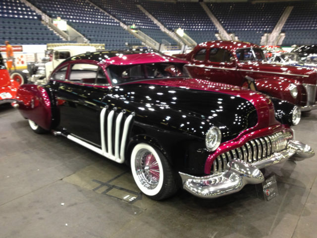 1949 Buick Century Fireball Custom Lead Sled W   401