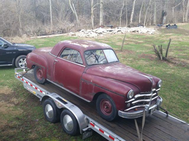 1949 dodge wayfarer business coupe barn find rat rod for 1950 dodge 2 door coupe
