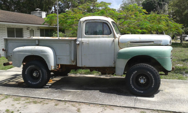 Ford F Pick Up On Chevy X Drive Trane on 1952 Ford F3 Pick Up