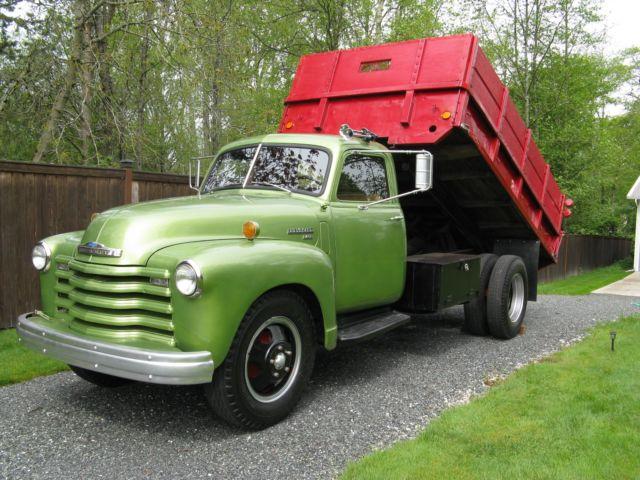 1950 Chevrolet 2.5 Ton 6400 Series Dump Truck