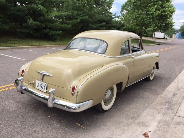 1950 chevrolet styleline special sport coupe 2 door for 1950 chevy 2 door sedan