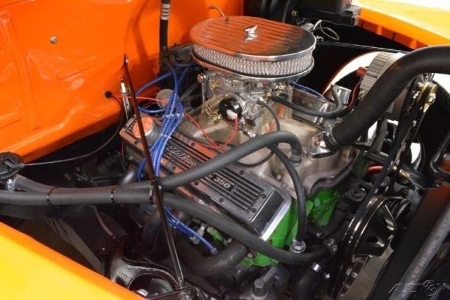 1950 Chevrolet Truck 1/2 ton Custom 350 V8 Auto Resto-Mod ...1950 Chevy Pickup Engine