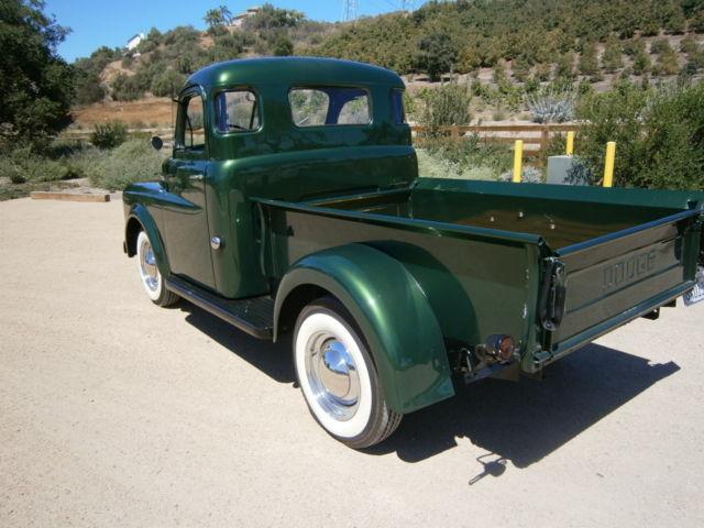 dodge  series pickup truckbeautiful restored california truck