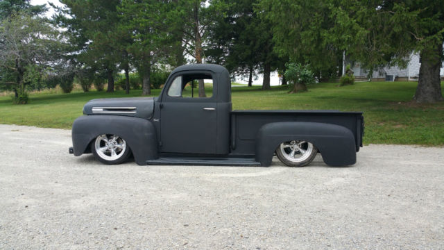 1950 Ford F1 Shop Truck Project Rat Rod Air Ride