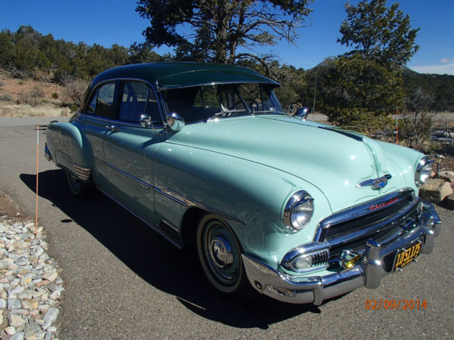 1951 chevrolet fleetline deluxe sedan 4 door 3 8l for 1951 chevy deluxe 4 door for sale