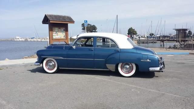 1951 chevrolet styleline deluxe 4 door sedan for 1952 chevrolet styleline deluxe 4 door