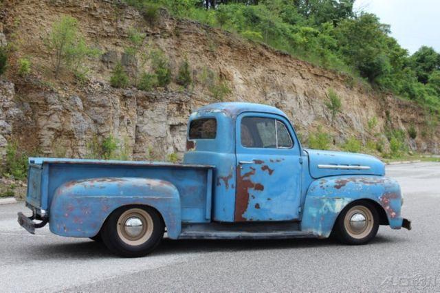 1951 ford f 100 rat rod pickup restomod 350ci auto pdb ps patina 27 Ford Coupe Rat Rod 1951 ford f 100 rat rod pickup restomod 350ci auto pdb ps patina nice f1