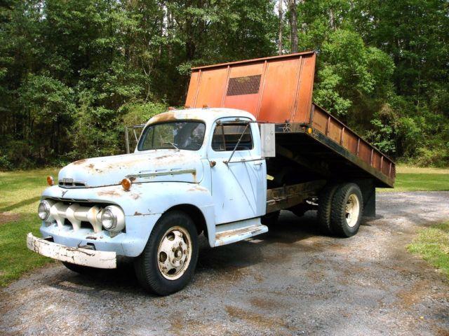 1951 ford f 5 dump bed truck. Black Bedroom Furniture Sets. Home Design Ideas