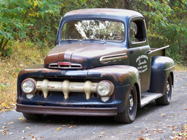 1951 ford f1 pickup all wheel drive v8 5 speed hotrod. Black Bedroom Furniture Sets. Home Design Ideas