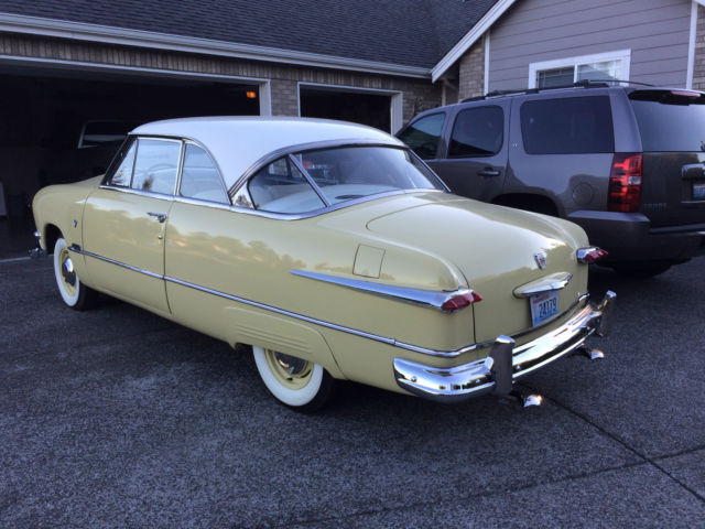 1951 ford victoria 2 door hardtop deluxe coupe flathead for 1951 ford 2 door hardtop