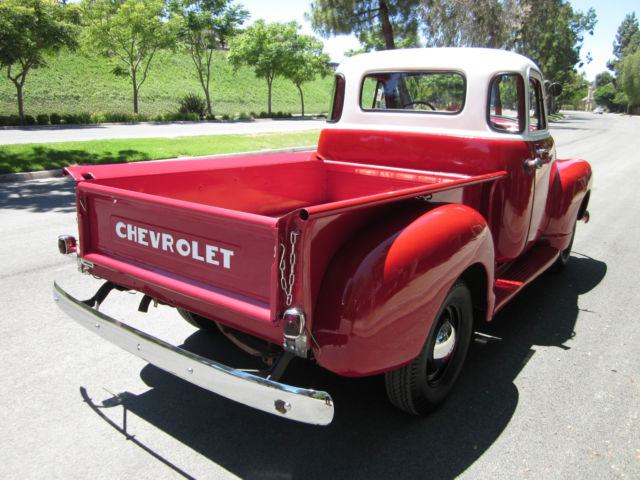 Thousand Oaks Chevy >> 1952 Chevy 3100 pickup deluxe 5 window cab all original ...