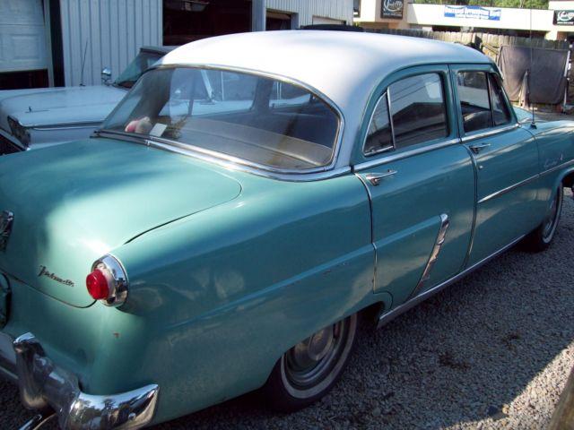 1952 ford customline 4 door sedan v8 flathead fordomatic for 1952 ford customline 2 door