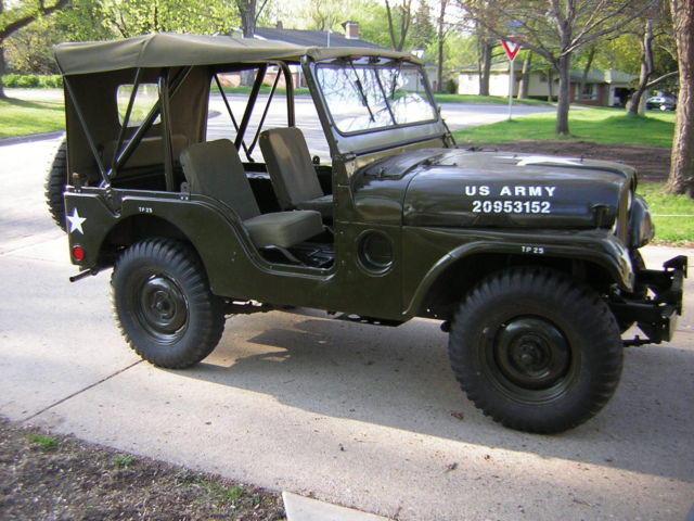 M A Willys Military Jeep Korean War on 1952 Willys Jeep M38 For Sale