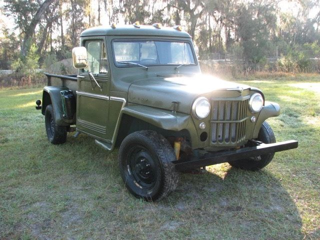 1952 Willys four wheel drive Pickup