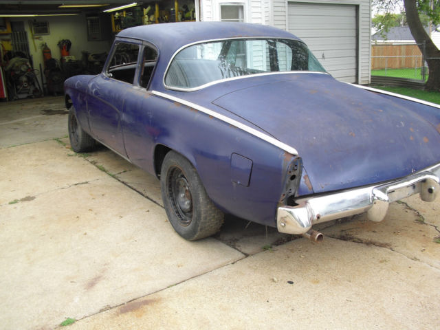 1953 Champion Starlight Coupe Drag Car Rat Rod Land