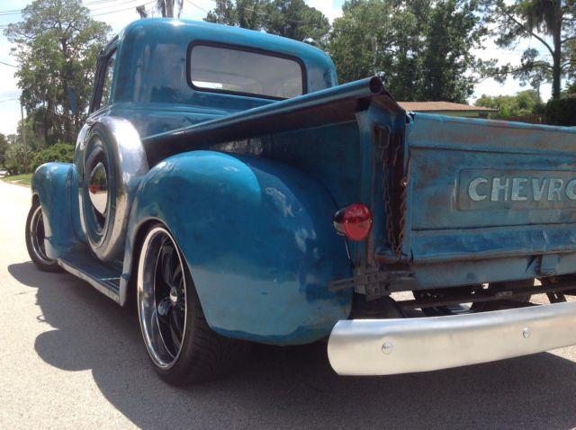 1953 Chevrolet 3100 Pickup Truck Patina Rat Rod Shop