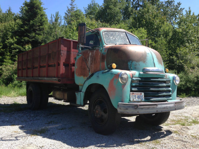 1953 Chevrolet 5700 Coe Cabover Flatbed Dump Truck