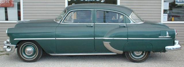 1953 chevrolet bel air base sedan 4 door 3 8l for 1953 chevrolet belair 4 door sedan