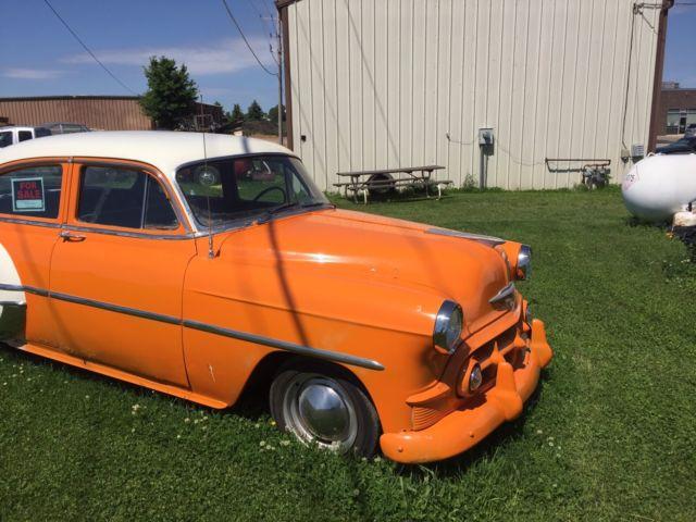 1953 chevrolet belair 4 door sedan no reserve for 1953 chevy 4 door