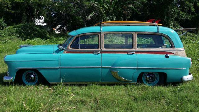 1953 Chevrolet Station Wagon Beach Surf Rat Street Rod