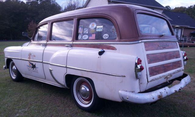 1953 Chevrolet Tin Woody Station Wagon Rat Rod Hot Rare Car