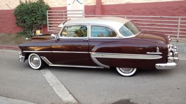 1953 chevy belair 2 door sedan for 1953 cadillac 4 door sedan