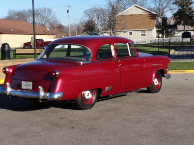 1953 ford customline flathead v8 3 speed manual 2 door sedan for 1953 ford 4 door sedan