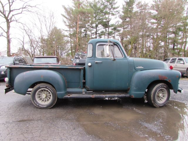 1954 chevrolet 3100 five window cab pickup for 1954 chevy truck 5 window