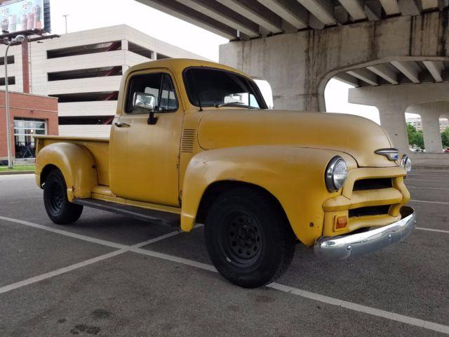 1954 Chevrolet Pickup Truck Rat Rod Hot Rod Kustom S10 Frame 4wd V6 ...