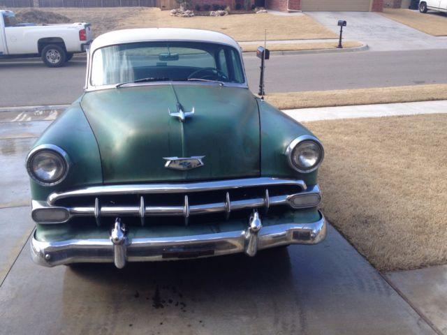 1954 chevy bel-air 4 door daily driver!!!!