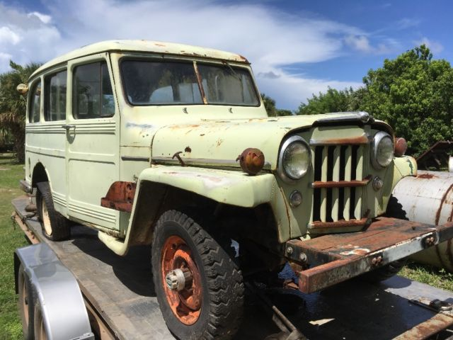 Willys Wagon Original Body Rebuilt Gm Enginerestoration Project on Willys Jeep Engine Casting Numbers