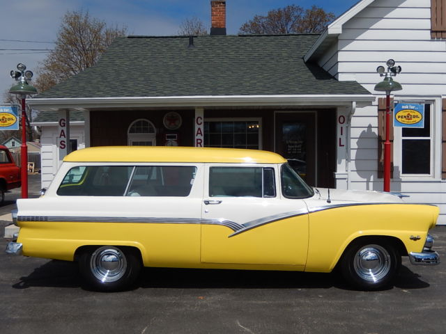 1955 55 ford ranch station wagon automatic 2 door courier for 1955 ford 2 door wagon