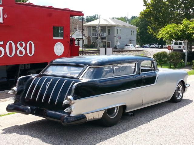 1955 55 Pontiac Safari 2 Dr Wagon Pro Street Gasser Chevy