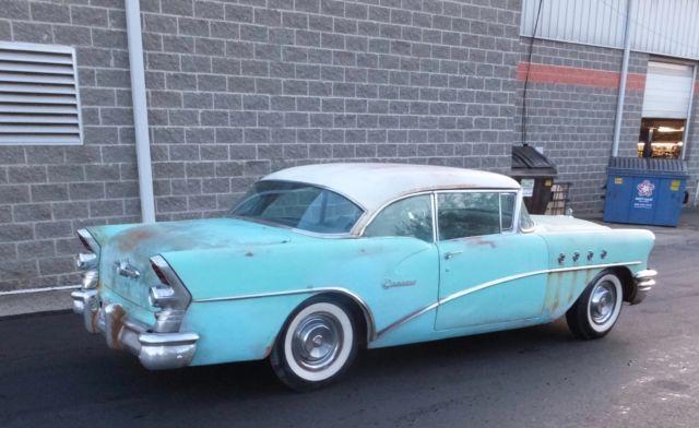 1955 buick century low miles no reserve 2 door hardtop for 1955 buick century 2 door