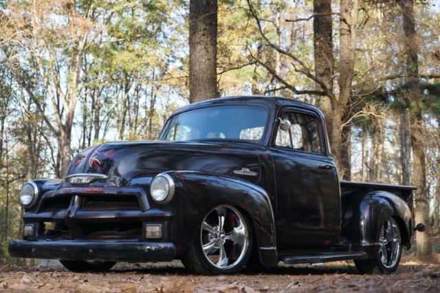 1955 chevrolet pickup 3100 five window stepside pantina for 1955 chevy 5 window truck