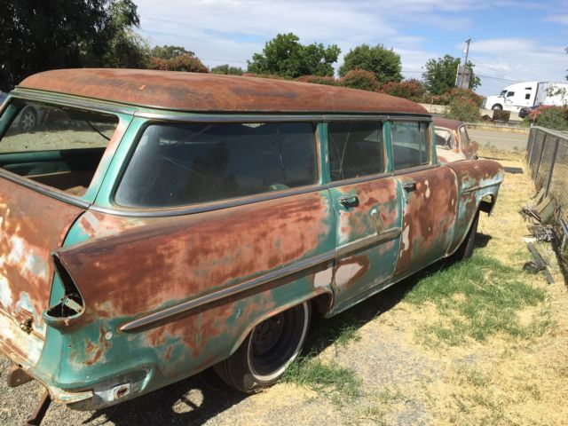 1955 Chevrolet Townsman Wagon 4 Door