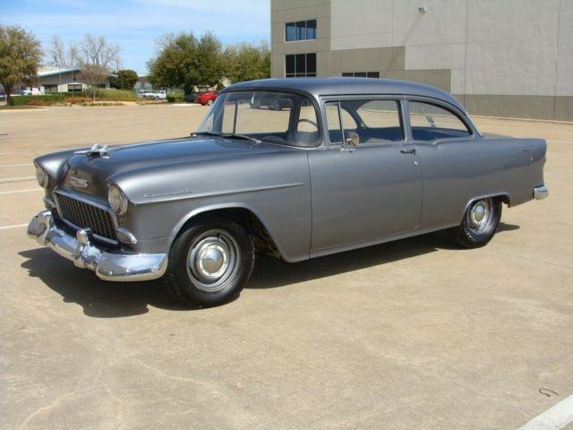 1955 Chevy 150 2dr Utility Sedan No Back Seat Rare