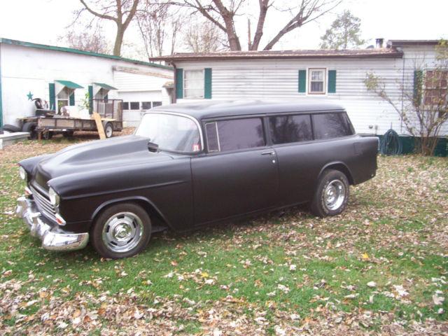 1955 chevy 2 door wagon hot rod street rod classic cruiser for 1955 chevy 2 door wagon for sale