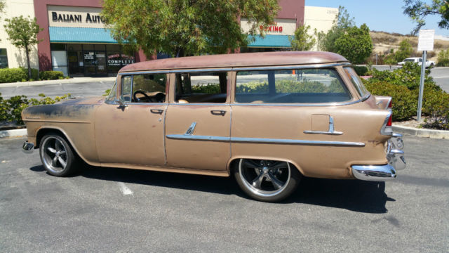 1955 CHEVY 210 WAGON, BEL AIR, RAT ROD, CRUISER, OR PROJECT.