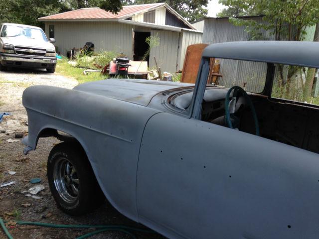 1955 Chevy Bel Air 2 Door Hardtop Project Car
