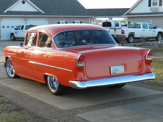 1955 chevy bel air 2 door sedan resto mod for 1955 chevy 2 door sedan