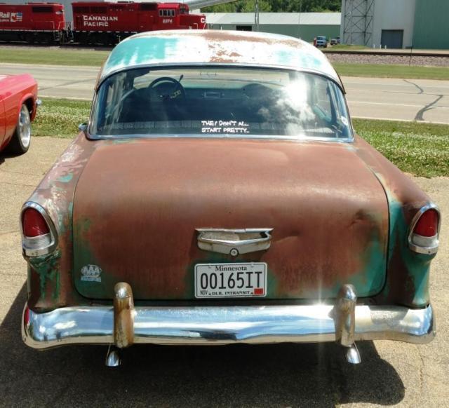 1955 Chevy Hot Rod Street Rod Rat Rod Patina 4 Door