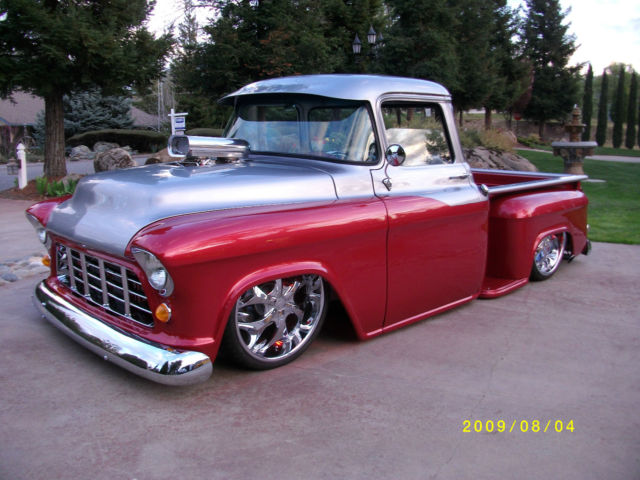 1955 chevy truck 3100 big window. Black Bedroom Furniture Sets. Home Design Ideas