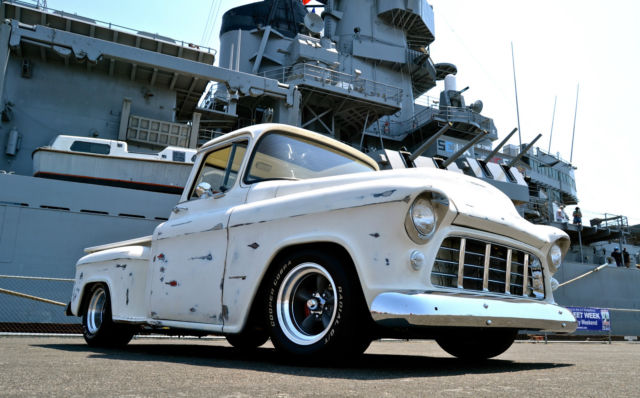 1955 Chevy Truck 3100 Vette IRS, Mustang II IFS, crate H O