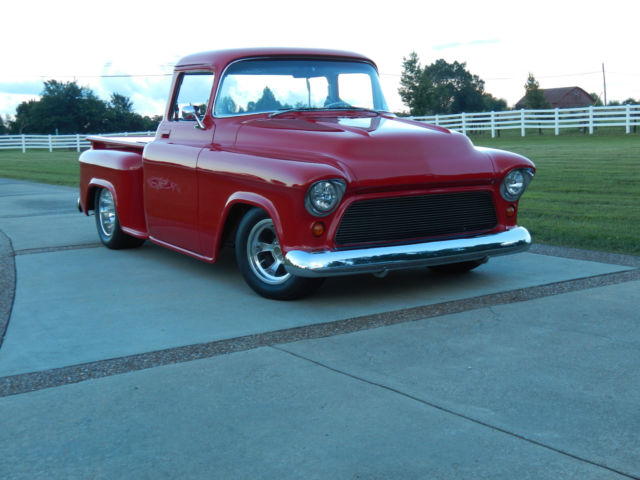 1955 CHEVY truck RESTO-MOD all new ALL CUSTOM(COLD A/C ...