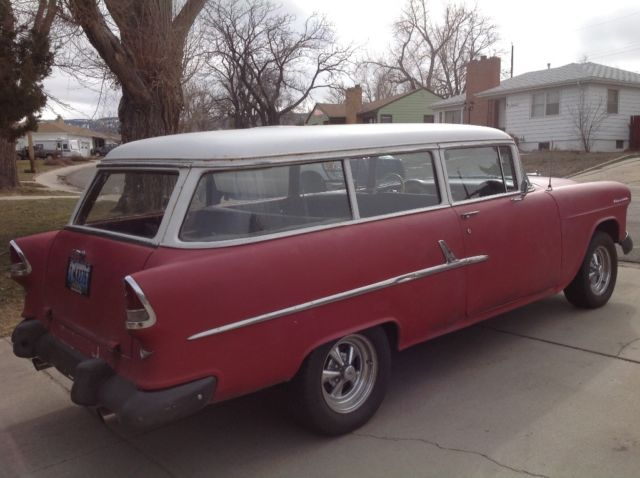 1955 chevy wagon 2 door 55 chevrolet belair 210 150 car