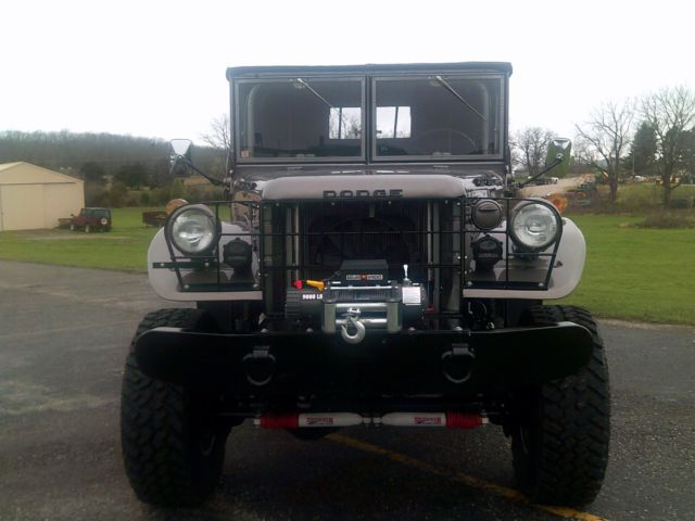 1955 dodge power wagon m37 4x4 nice very unique and rare