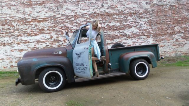 1955 Ford F100 F 100 Custom Cab Patina Pickup 1948 1949